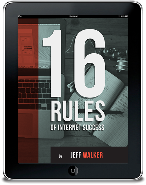 16 Rules of Internet Success from Jeff Walker