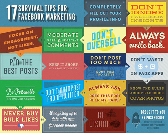 17 Facebook Marketing Tips
