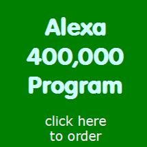 John Kremer's Alexa 400,000 Program