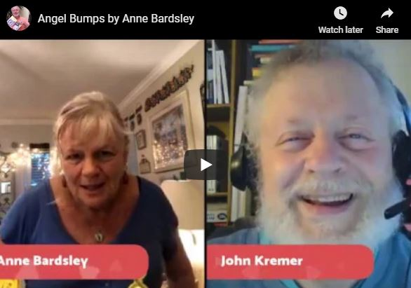 John Kremer interviews Anne Bardsley, author of Angel Bumps: Hello From Heaven, her newest book about connecting with loved ones who have passed away.