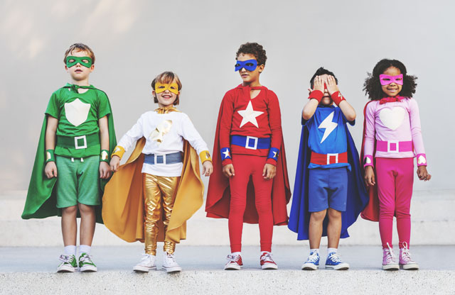 Be a Superhero via RawPixel