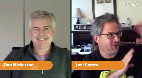 Joel Comm and Dan Nickerson