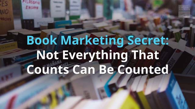 Book Marketing Secret