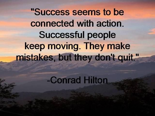 Conrad Hilton on Success