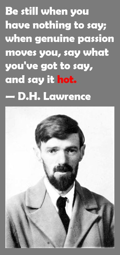D H Lawrence on Passion