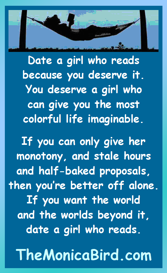 Dating a girl who reads