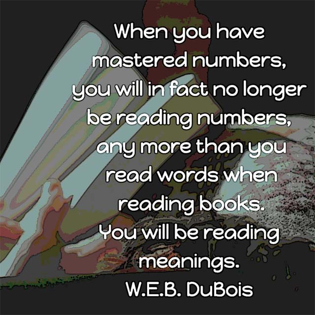 W.E.B. Du Bois on Reading Meaning