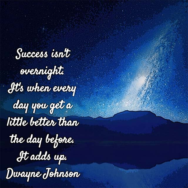 Dwayne Johnson on Success