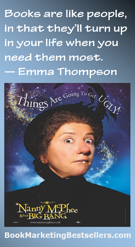 Emma Thompson on Books