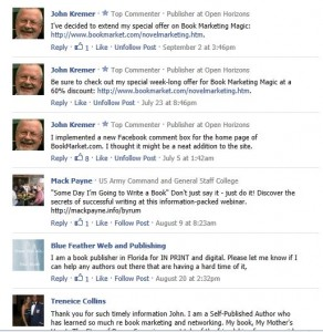 Facebook comments widget