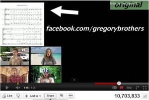 Facebook YouTube links