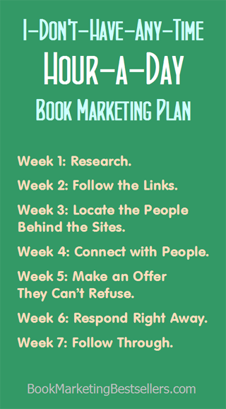 The Hour-a-Day Book Marketing Plan