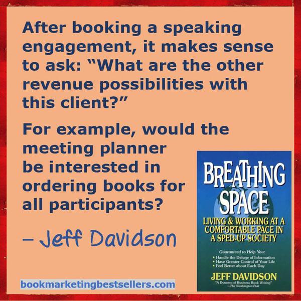 Make More Money While Speaking