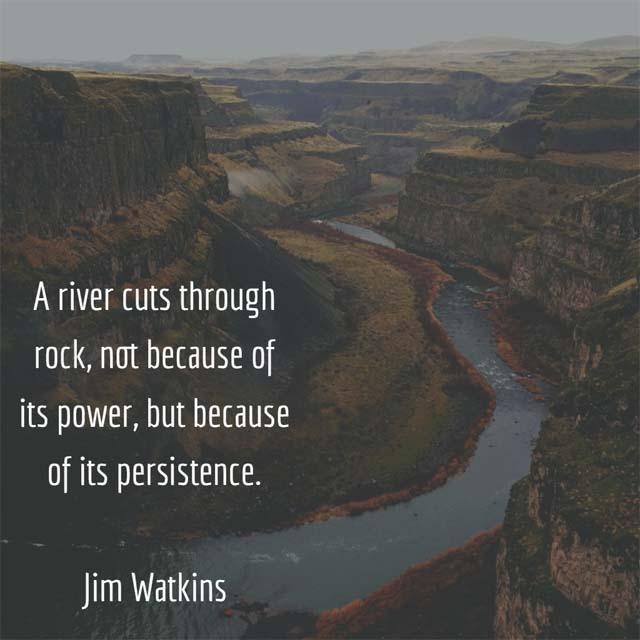 Jim Watkins: On Persistence