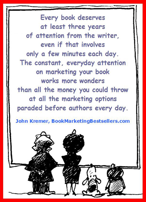 A key book promotion tip from John Kremer