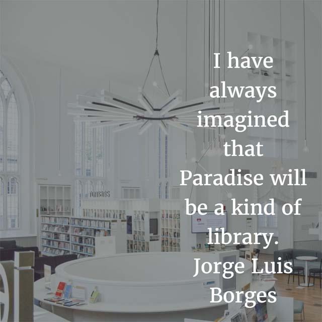 Jorge Luis Borges on Paradise