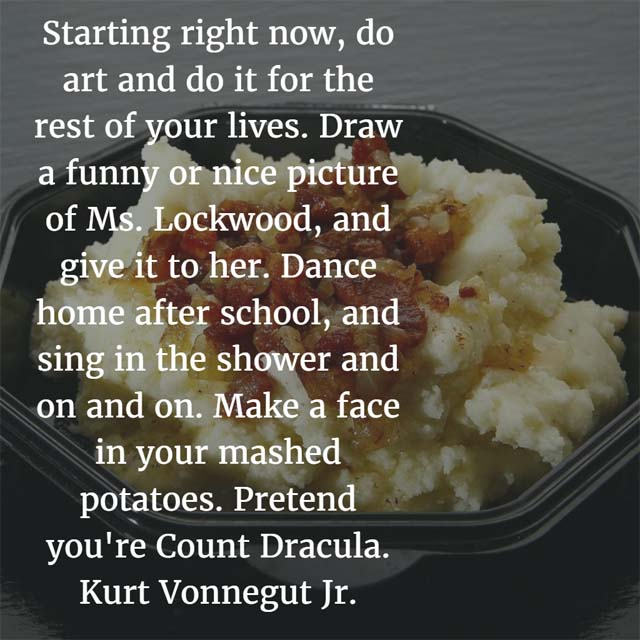 Kurt Vonnegut Jr. on Art