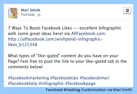 Mari Smith on New Facebook Hashtags