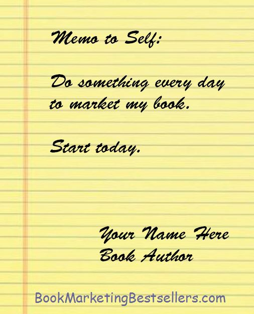 Book Author: Memo to Self