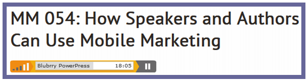 Mobile Marketing for Book Authors
