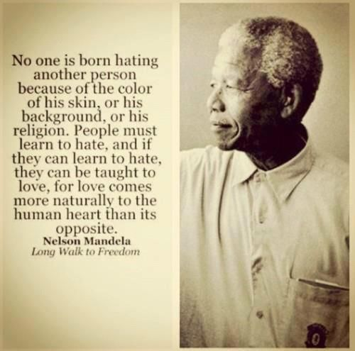 Nelson Mandela on Hate