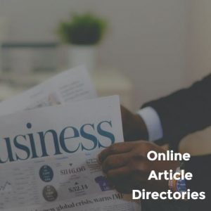 Online Article Directories