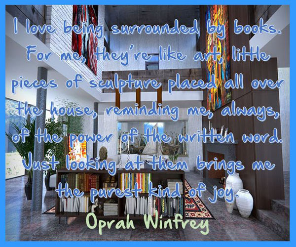 Oprah Winfrey on the Joy of Books
