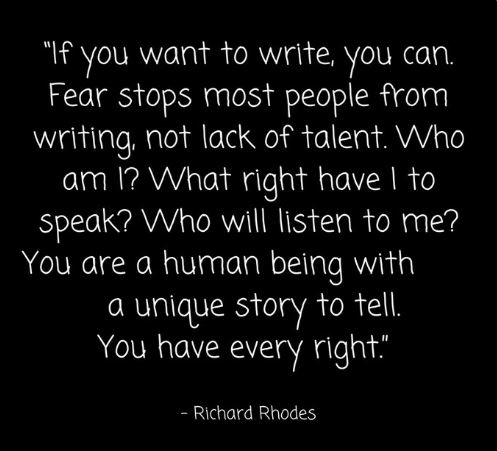 Richard Rhodes on Writers
