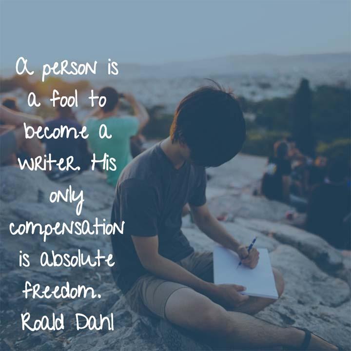 Roald Dahl on Writing