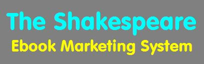Shakespeare ebook marketing system