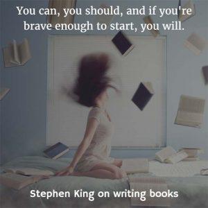Stephen King on Writing Books