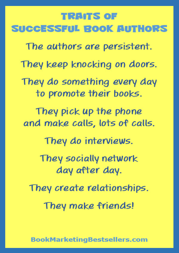 Book Marketing Tip: Persistence Rules