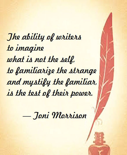 Toni Morrison on Writers