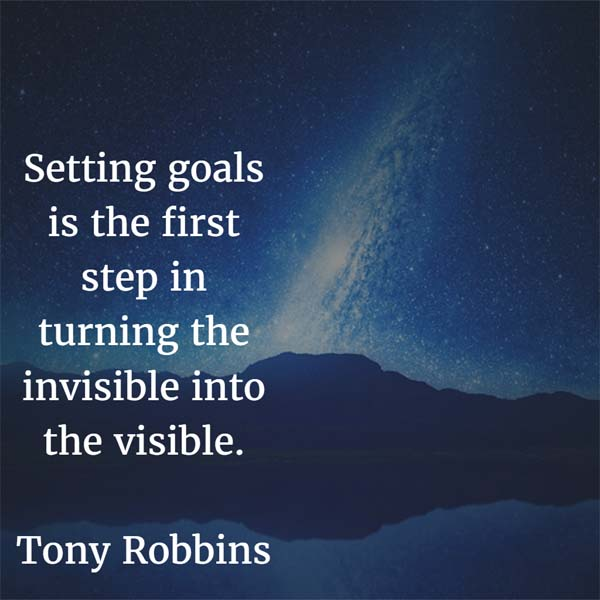 Tony Robbins: On Setting Goals