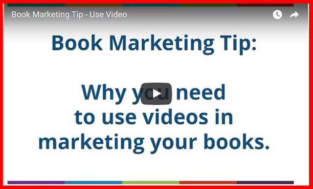 Video Marketing for Books: Book Marketing Tip: Here's why you need to use videos in marketing your books. YouTube gets over 1 billion unique visitors every month.