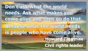 Howard Thurman quote