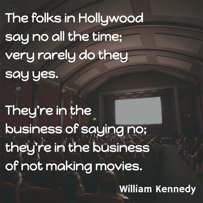 William Kennedy on Movie People