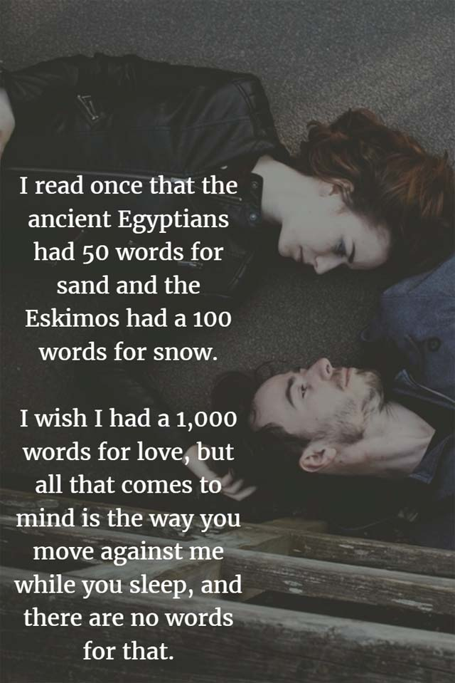 1000 Words for Love