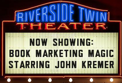 Book Marketing Movie Marquee