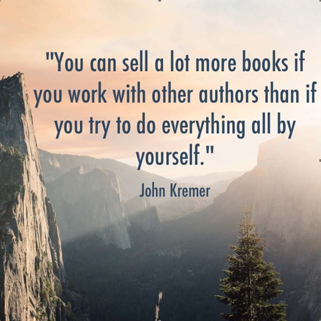 sell lots more books with other authors
