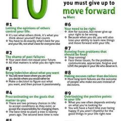 10 Things to Give Up to Move Forward