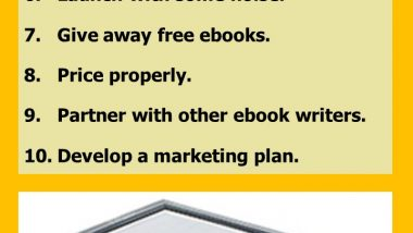 10 Tips to Write and Publish an Ebook