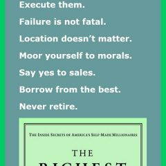 12 Commandments of Wealth