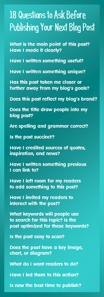 18 Questions to Ask before Blogging: Blogging How-to Information Sites - If you are new to blogging, here are a few websites and blogs that will help you get started as an active blogger.