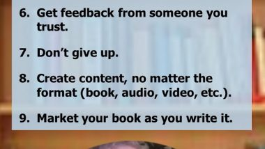 John Kremer's Advice to Would-Be Book Authors
