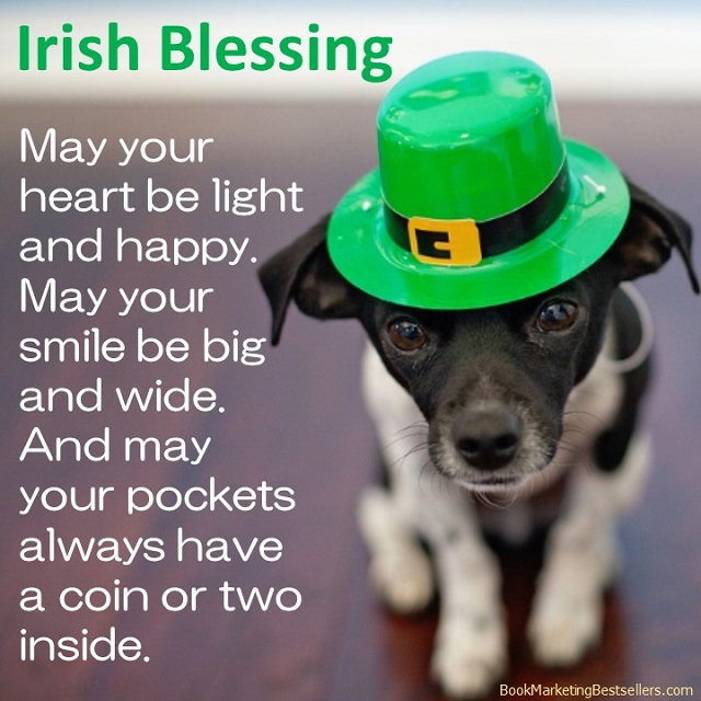 May your heart be light and happy. May your smile be big and wide. And may your pockets always have a coin or two inside. — Irish blessing #StPatsDay #StPatricksDay #HappyStPats