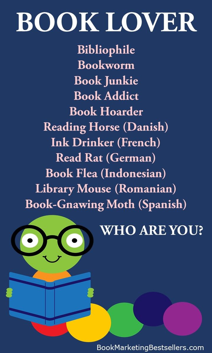 book lovers, bibliophiles, bookworms, book junkies, book addicts, book hoarders -- That's me!