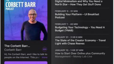 Corbett Barr Podcast