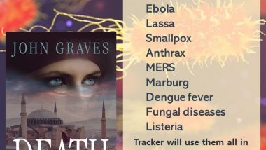 Deadly Diseases tip-o-graphic via Tracker