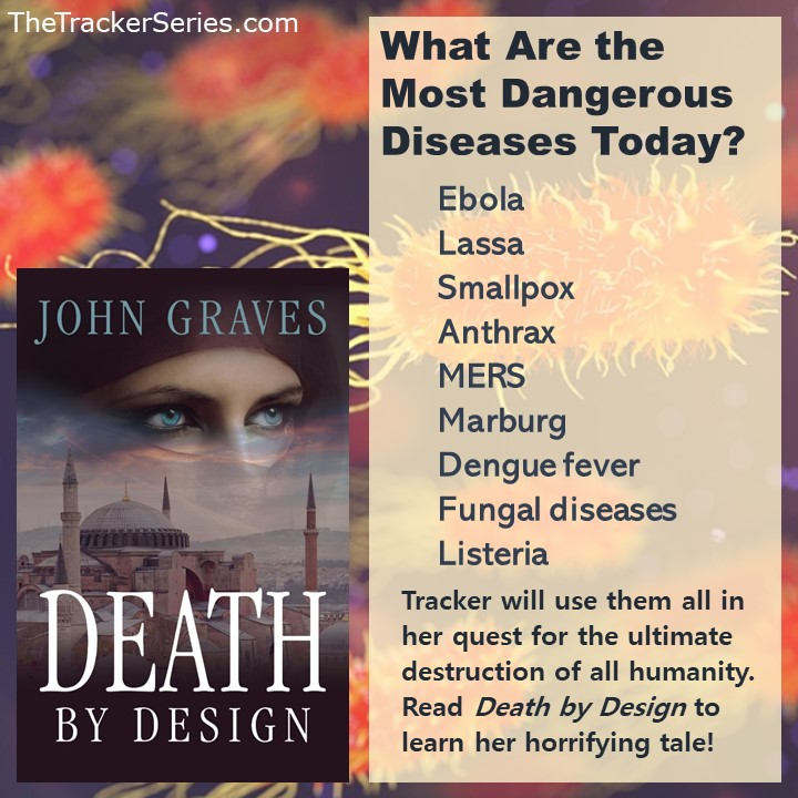 Deadly Diseases tip-o-graphic via The Tracker Series by John Graves